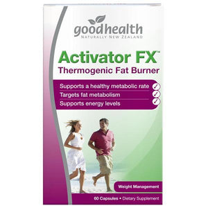 Good Health Body Burn Activator FX 60 Capsules - Supplements.co.nz