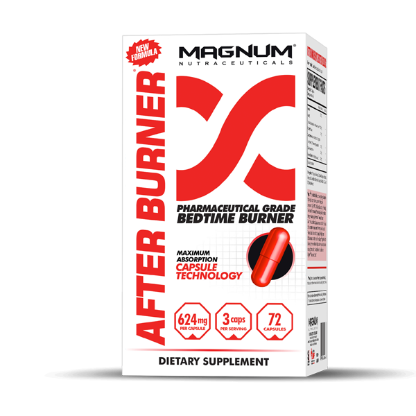Magnum After Burner 72 Capsules - Supplements.co.nz