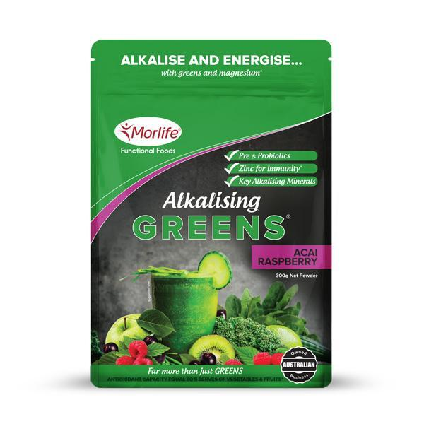 New Morlife Alkalising Greens 300g - Supplements.co.nz