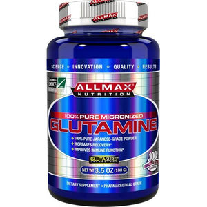 AllMax Nutrition Glutamine 100g-Physical Product-Allmax-Supplements.co.nz