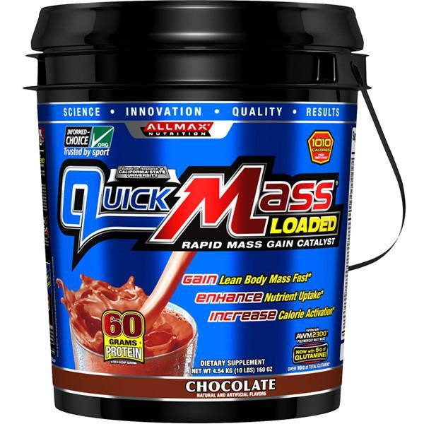 AllMax Nutrition QuickMass 10lb-Physical Product-Allmax-Supplements.co.nz