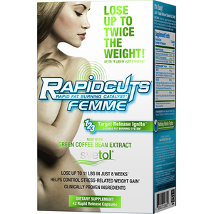 AllMax Nutrition Rapidcuts Femme 42 Caps - Supplements.co.nz