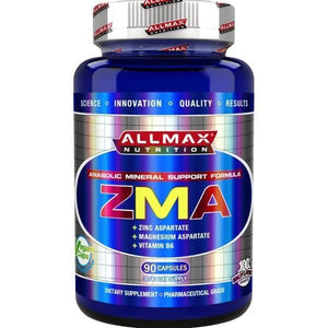 AllMax Nutrition ZMA 90 Caps-Physical Product-Allmax-Supplements.co.nz