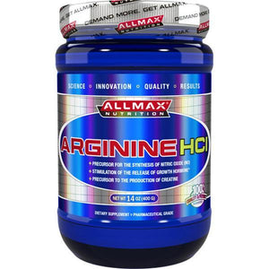 AllMax Nutrition Arginine HCL 400g - Supplements.co.nz