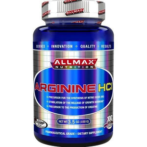 AllMax Nutrition Arginine HCL 100g - Supplements.co.nz