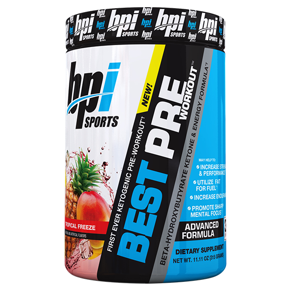 BPI Best Pre-Workout with Keto 30 Servings - Supplements.co.nz