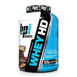 BPI Whey HD 4.5lb - Supplements.co.nz