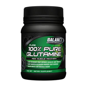 Balance 100% Pure Glutamine - 150g-Physical Product-Balance-Supplements.co.nz