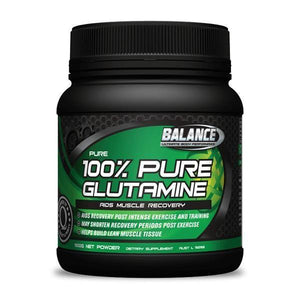 Balance 100% Pure Glutamine - 500g-Physical Product-Balance-Supplements.co.nz