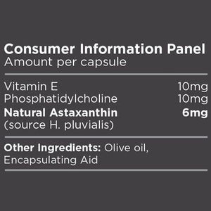 Biosphere Astaxanthin 6mg 60 Capsules - Supplements.co.nz