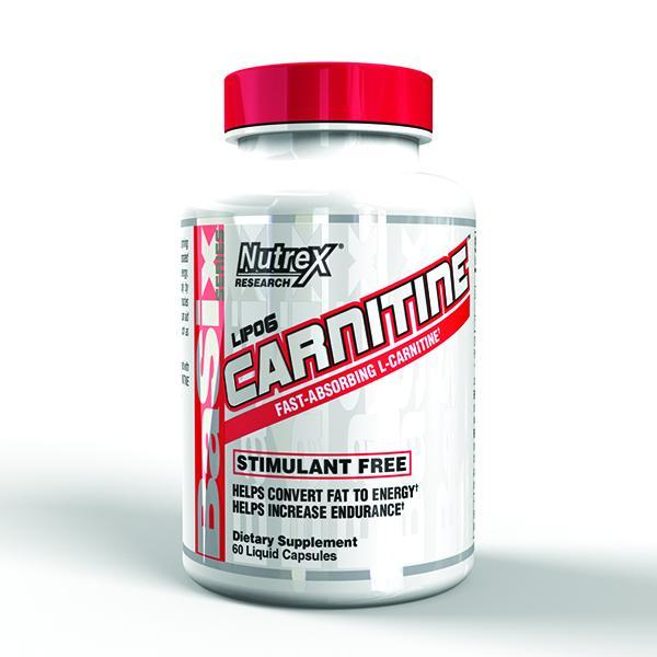 Nutrex Lipo-6 Carnitine 60 Caps - Supplements.co.nz