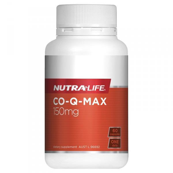 Nutralife Co-Q MAX 60 Caps - Supplements.co.nz