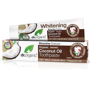 Dr. Organic Coconut Oil Toothpaste 100ml