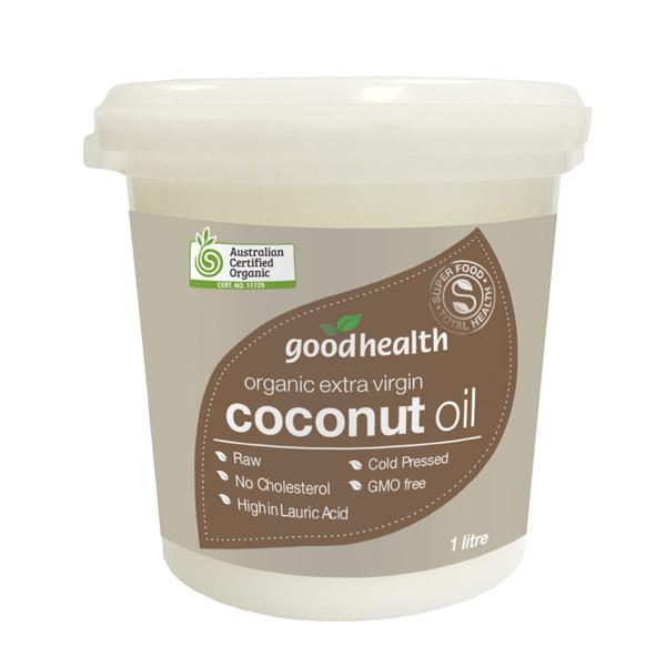 Good Health - Good Health Organic Extra Virgin Coconut Oil 1L - Supplements.co.nz