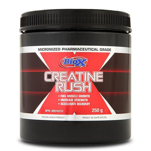 Bio X Creatine Rush 250g-Physical Product-BioX Performance-Supplements.co.nz