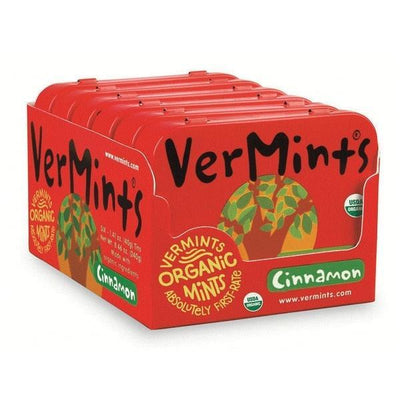 Vermints - Vermints - Cinnamint 6 Tins/Outer - Supplements.co.nz - 1