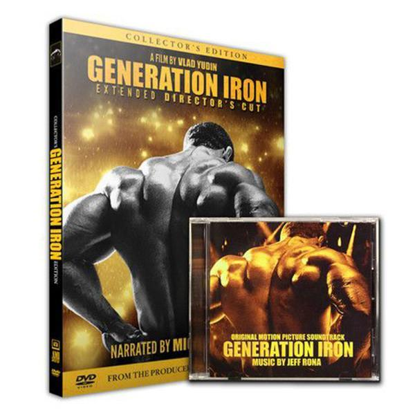 DVD Generation Iron - Supplements.co.nz