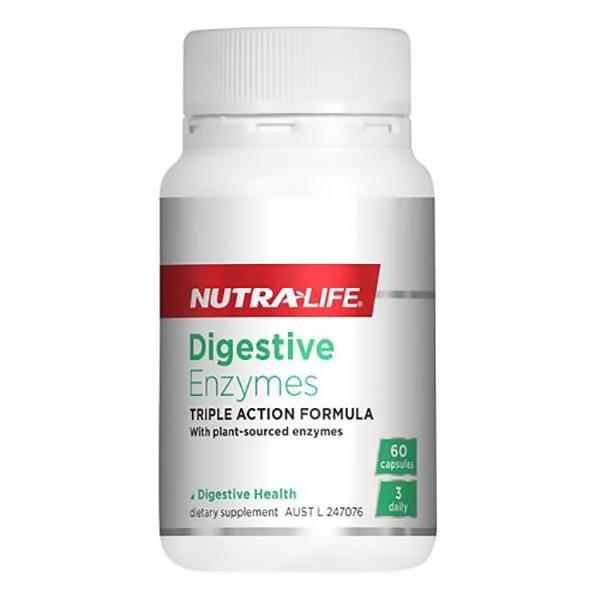 Nutralife Digestive Enzymes 60 caps - Supplements.co.nz