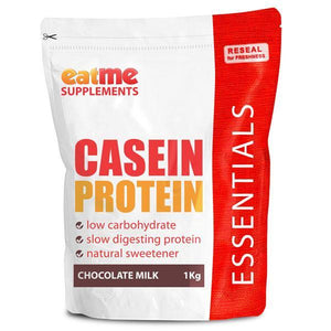 EAT ME Supplements - Eat Me Supplements Casein Protein 1kg Chocolate Milk Shake - Supplements.co.nz - 1
