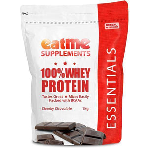 EAT ME Supplements - Eatme Supplements 100% Whey Protein Cheeky Chocolate 1kg - Supplements.co.nz