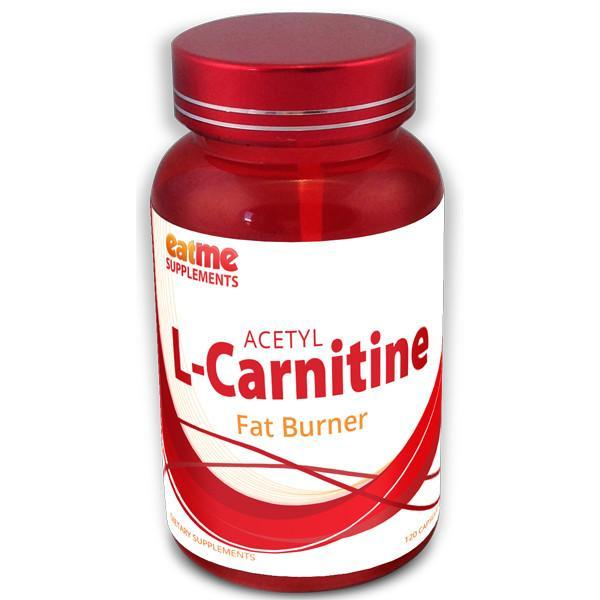 EAT ME Supplements - Eat Me Supplements Acetyl L-Carnitine 500mg 60 Capsules - Supplements.co.nz