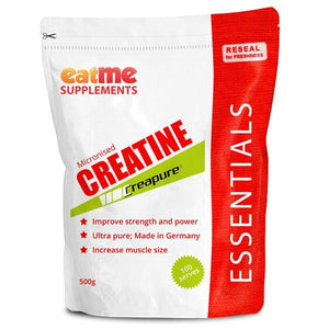 EAT ME Supplements - Eat Me Supplements Creapure Creatine Micronized 500g - Supplements.co.nz