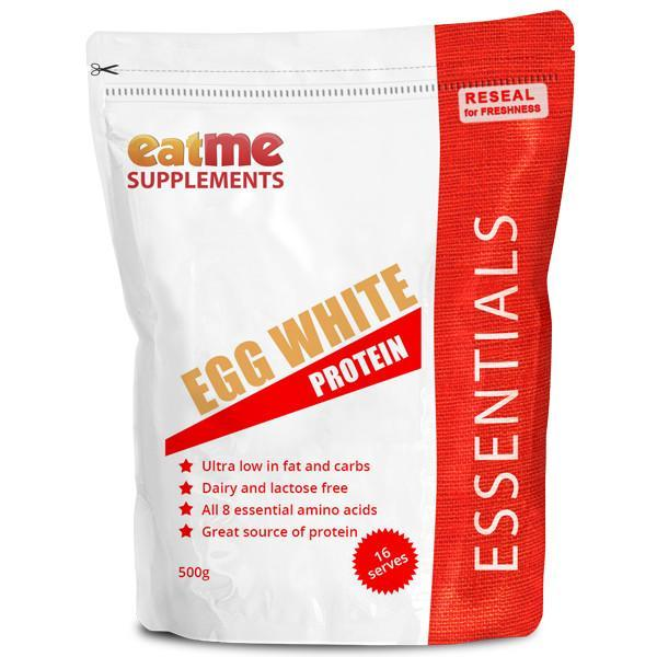 EAT ME Supplements - Eat Me Supplements Egg White Protein 500g - Supplements.co.nz - 1