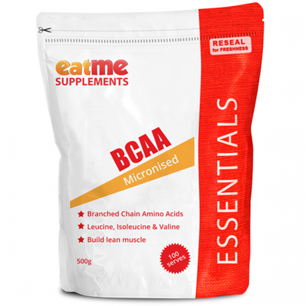 Eat Me Supplements BCAA 500g-Physical Product-EAT ME Supplements-Supplements.co.nz