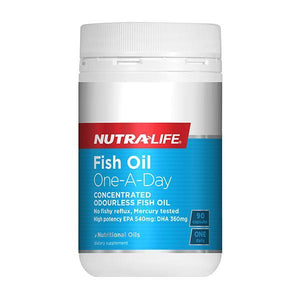 Nutralife Fish Oil One-A-Day 90 Caps - Supplements.co.nz