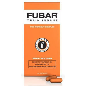 Fusion Bodybuilding Fubar 60 Caps - Supplements.co.nz