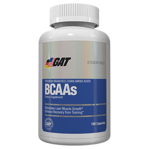 GAT Essentials BCAA 180 Capsules - Supplements.co.nz