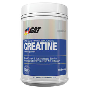 GAT Essentials Creatine 1kg - Supplements.co.nz