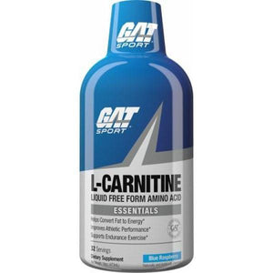 GAT Essentials Liquid L-Carnitine 473ml - Supplements.co.nz