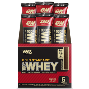 Optimum Nutrition Gold Standard 100% Whey Travel Pack 30g x6