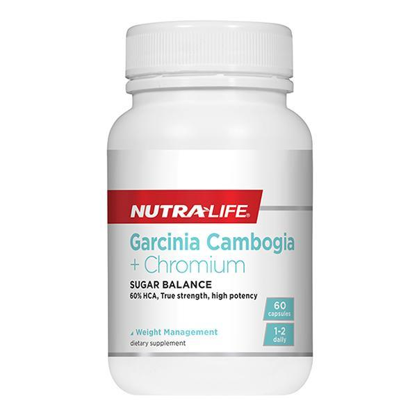 Nutralife Garcinia Cambogia + Chromium - Supplements.co.nz
