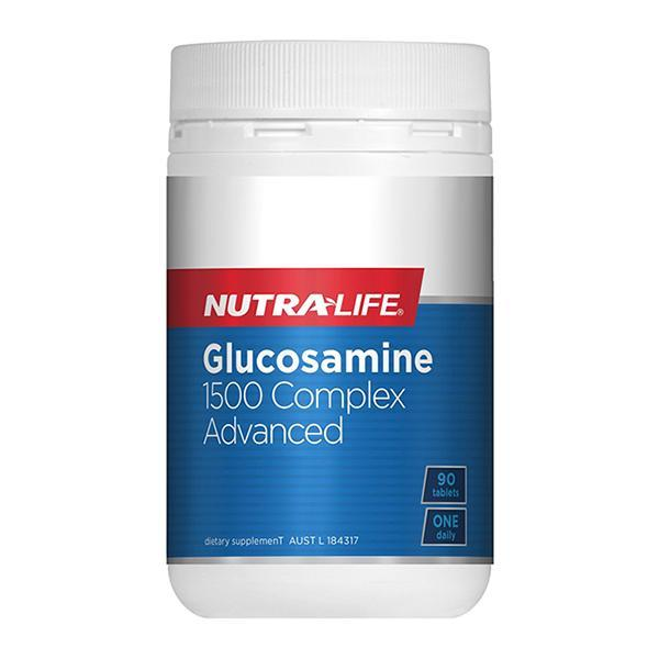 Nutralife Glucosamine 1500 Complex Advanced 90 Tablets - Supplements.co.nz