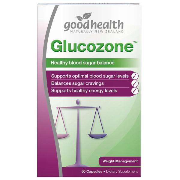 Good Health Glucozone 60 Capsules - Supplements.co.nz