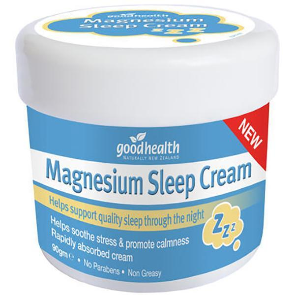 Good Health Magnesium Sleep Cream 90g - Supplements.co.nz