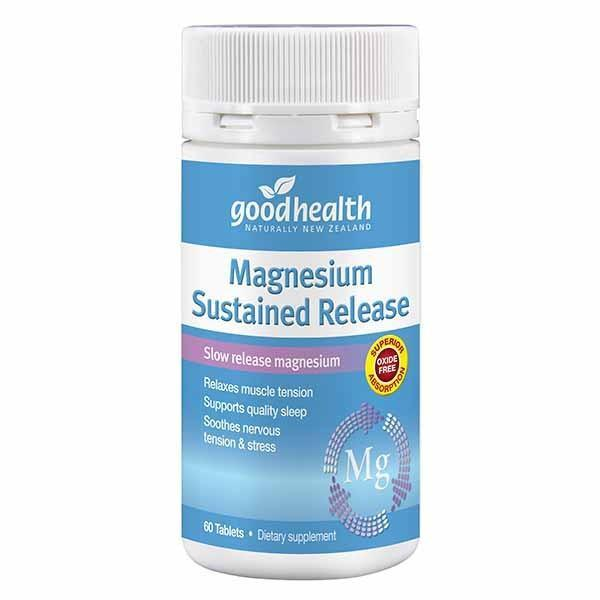 Good Health Magnesium Sustained Release 60 Tabs