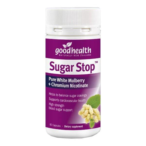 Good Health Sugar Stop 60 Capsules - Supplements.co.nz