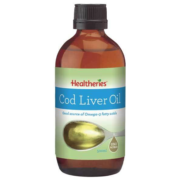Healtheries Cod Liver Oil 500ml