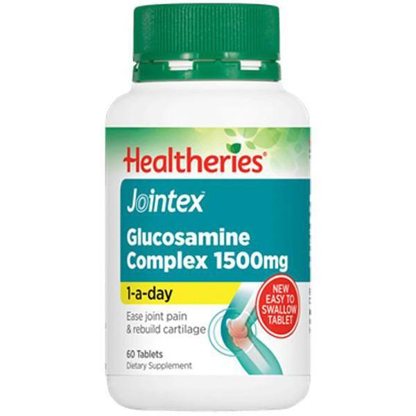 Healtheries Jointex Glucosamine Complex 1500mg 60 Tablets - Supplements.co.nz