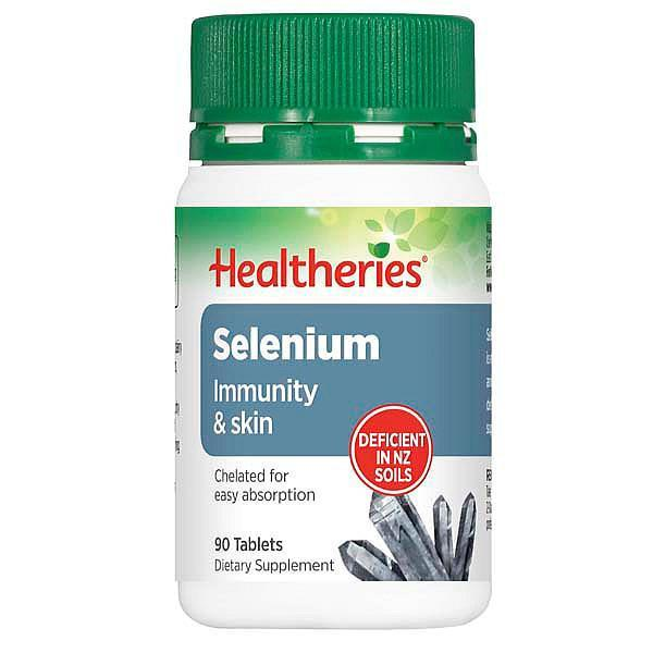 Healtheries Selenium 90 Tablets-Physical Product-Healtheries-Supplements.co.nz