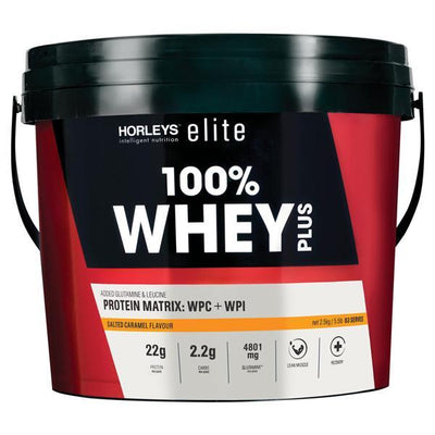 Horleys 100% Whey Plus 2.5kg - Supplements.co.nz