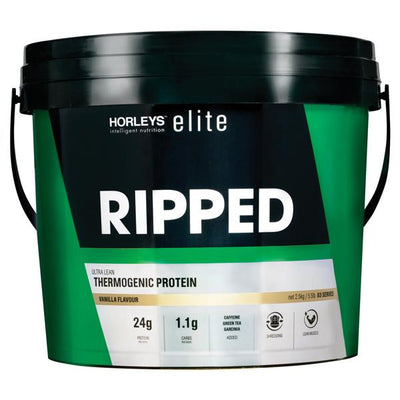 NEW Horleys Elite Ripped 2.5kg - Supplements.co.nz