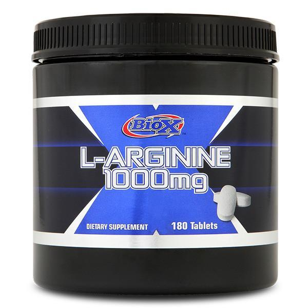 BioX L-Arginine 1000mg 180 Tablets - Supplements.co.nz