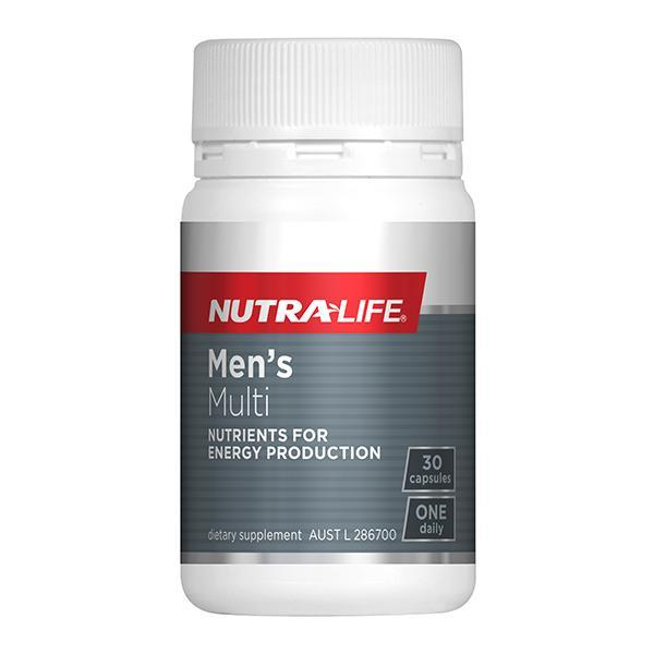 Nutralife Men's Multi One-A-Day 30 Capsules - Supplements.co.nz