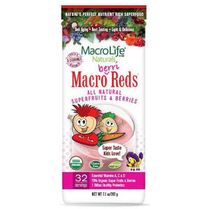 MacroLife Naturals Macro Berri Reds for Kids 202g - Supplements.co.nz
