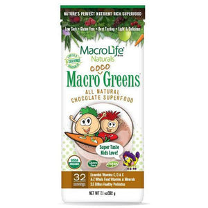 MacroLife Naturals Macro Coco Greens for Kids 202g - Supplements.co.nz