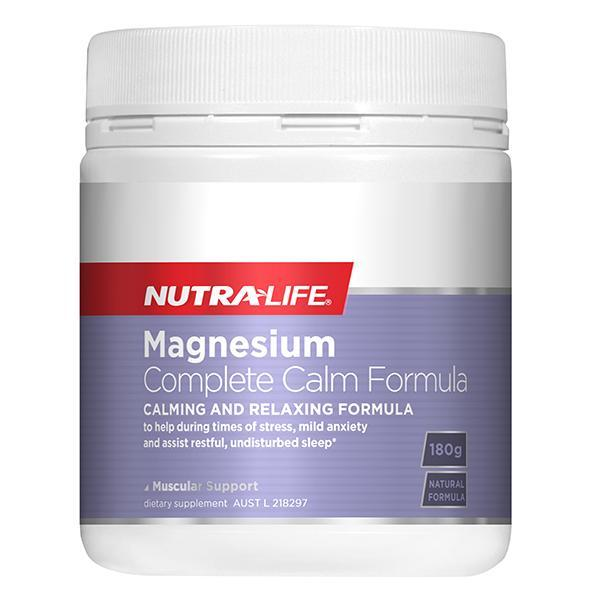 Nutralife Magnesium Complete Calm Formula 180g - Supplements.co.nz